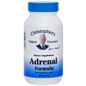 Adrenal Formula 100 Vegicaps by Dr. Christophers Formulas