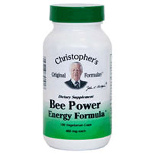 Bee Power Energy 100 Vegicaps by Dr. Christophers Formulas (2588827287637)
