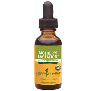 Mother's Lactation Tonic 1 oz. by Herb Pharm (2584090181717)