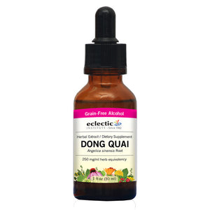 Dong Quai 1 Oz with Alcohol by Eclectic Institute Inc (2588832268373)