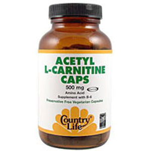 Acetyl L-carnitine 120 Caps by Country Life (2587245183061)