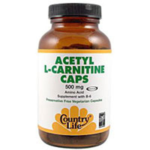 Acetyl L-carnitine 120 Caps by Country Life