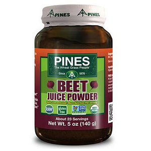 Beet Juice Powder 5 oz by Pines Wheat Grass (2584094769237)