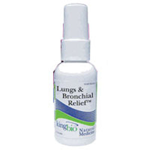 Lungs & Bronchial Relief 2OZ by King Bio Natural Medicines