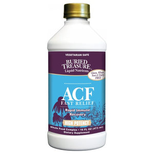 ACF Fast Relief Rapid Immune Support 16 Oz by Buried Treasure