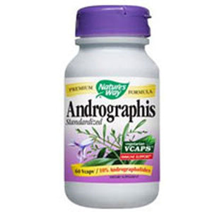 Andrographis Standardized Extract 60 Vegicaps by Nature's Way