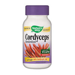 Cordyceps Standardized Extract 60 Vegicaps by Nature's Way (2588863561813)