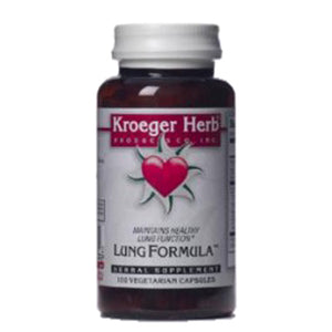 Lung Formula (Sound Breath) 100 Cap by Kroeger Herb (2588887941205)