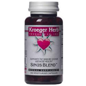 Sinus Blend (Stuffy) 100 Cap by Kroeger Herb (2588888006741)