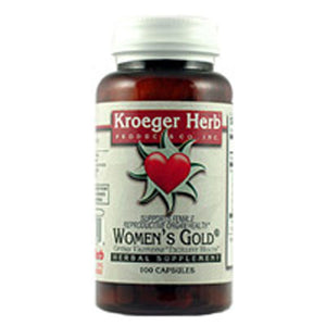 Women's Gold 100 Cap by Kroeger Herb (2588888072277)