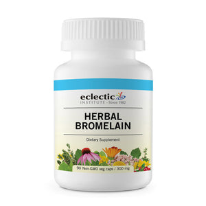 Herbal Bromelain 90 Caps by Eclectic Institute Inc (2588889415765)