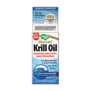 Krill Oil 60 Softgels by Nature's Way (2584129601621)