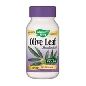 Olive Leaf 20% 60 Vegicaps by Nature's Way (2584129962069)