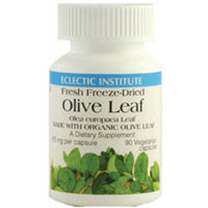 Olive Leaf 90 Capsules by Eclectic Institute Inc
