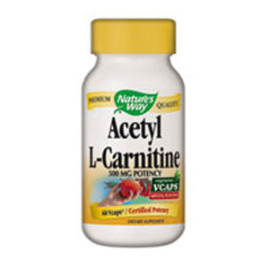 Acetyl L-carnitine 60 Vegicaps by Nature's Way