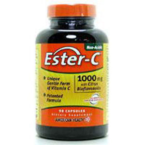 Ester-c With Citrus Bioflavonoids 180 Vegitabs by American Health (2584196612181)