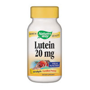 Lutein 60 Softgels by Nature's Way (2584193990741)
