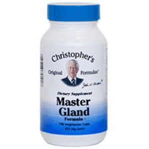 Master Gland Formula 100 Vegicaps by Dr. Christophers Formulas