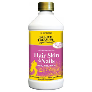 Hair Skin & Nails Complete 16 Oz by Buried Treasure (2588955017301)