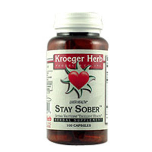 Candida Liver Care(formerly Stay Sober) 100 CAP by Kroeger Herb (2588983492693)