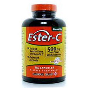 Ester-c With Citrus Bioflavonoids 225 Vegitabs by American Health, (2584196382805)
