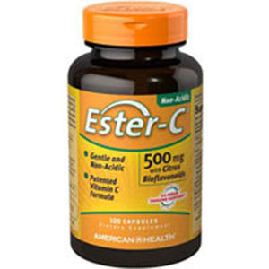 Ester-c With Citrus Bioflavonoids 60 Vegicaps by American Health, (2584196186197)