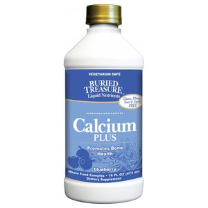 Calcium Plus Blueberry 16 Oz by Buried Treasure