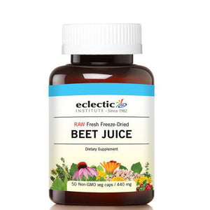Beet Juice 50 Caps by Eclectic Institute Inc (2589024780373)
