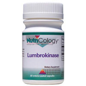 Lumbrokinase 60 caps by Nutricology/ Allergy Research Group