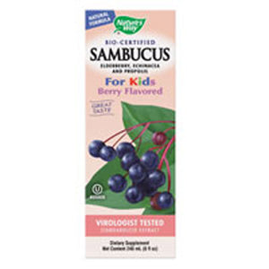Sambucus for Kids Berry Flavored,8 oz by Nature's Way (2584248451157)