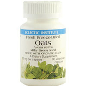 Oats 90 Caps by Eclectic Institute Inc (2590053630037)