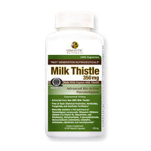 Milk Thistle 60 Caps by Genceutic Naturals (2589018423381)