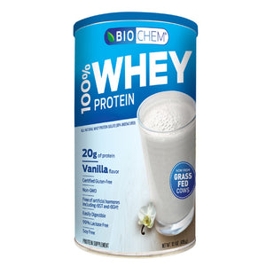 100% Whey Protein Powder 14.9 OZ by Biochem (2587246231637)