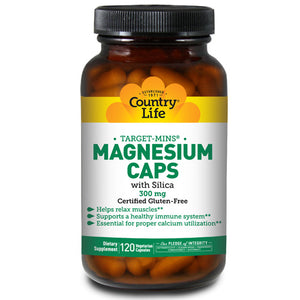 Magnesium Target-Mins 120 Caps by Country Life (2587246559317)