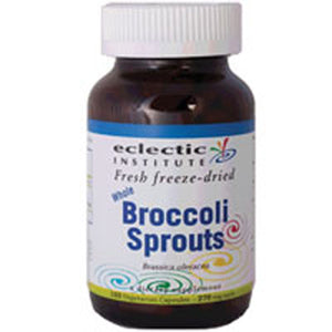 Broccoli Sprouts 50 Veg Caps by Eclectic Institute Inc