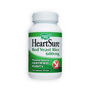 HeartSure Red Yeast Rice CoQ10 120 Vcaps by Nature's Way (2587261370453)