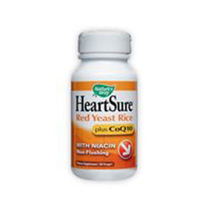 HeartSure Red Yeast Rice CoQ10 60 Vcaps by Nature's Way
