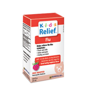 Kids 0-9 Flu Relief 25 ml by Homeolab