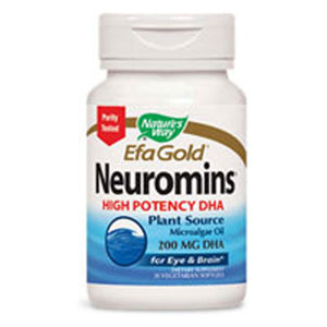 Neuromins High Potency DHA 60 Softgels by Nature's Way (2587269496917)