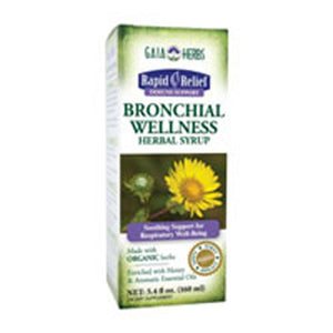 Bronchial Wellness Herbal Syrup 5.4 oz by Gaia Herbs