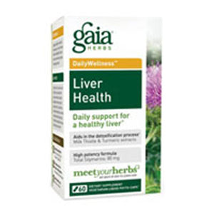 Liver Health 120 Veggie Liquid Phyto-Caps by Gaia Herbs (2588146630741)