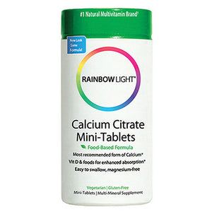 Calcium Citrate Mini-Tabs 120 Tabs by Rainbow Light (2587272904789)