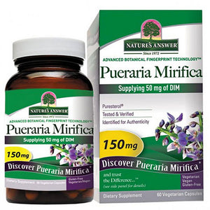 Pueraria Mirifica 60 Vcaps by Nature's Answer (2587283030101)