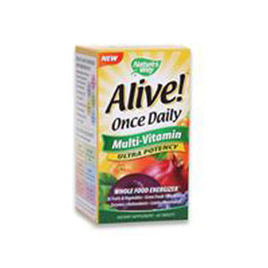 Alive Once Daily Multi-Vitamin 60 Tabs by Nature's Way (2587296432213)