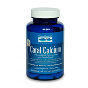 Coral Calcium with ConcenTrace 60 Caps by Trace Minerals (2589110141013)