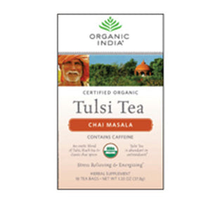 Organic Tulsi Tea Chai Masala 18 ct by Organic India (2589138649173)