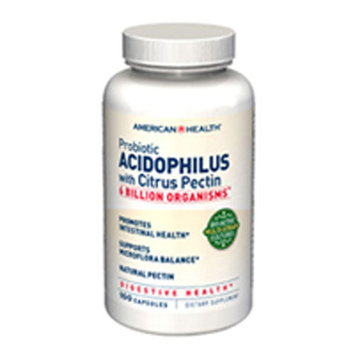 Probiotic Acidophilus with Citrus Pectin 100 Caps by American Health