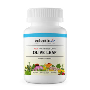 Olive Leaf 50 Caps by Eclectic Institute Inc (2588903931989)