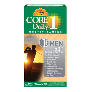 Core Daily 1 for Men 50+ 60 ct by Country Life (2587320713301)
