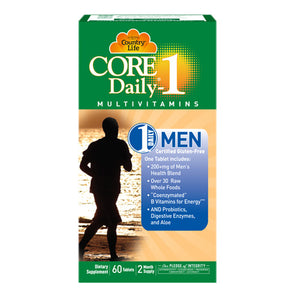 Core Daily 1 Men 60 ct by Country Life (2587320746069)